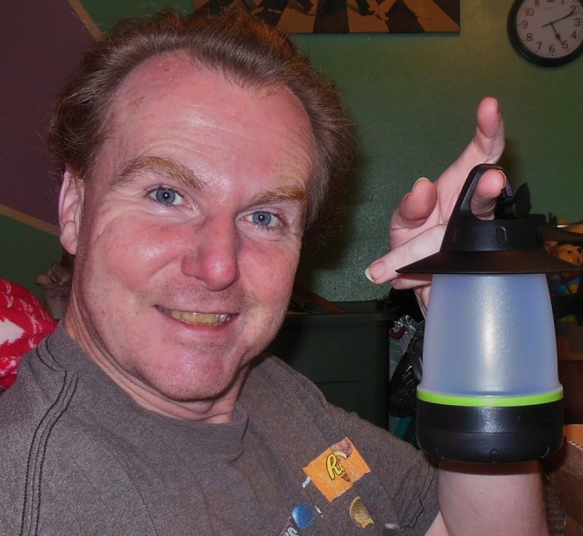 Martin used 10 voucher bids to win this LED lantern for only $0.36! #QuiBidsWin