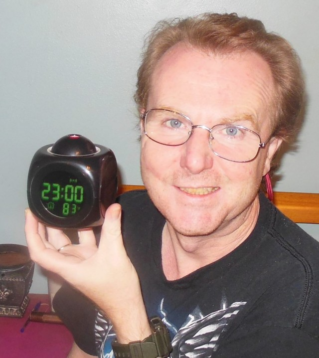 """Paid 17c and 2vb.  This alarm clock is fun!! It talks the time and projects it too. It has different melody alarms and also has temperature too :) The instructions are very vague but I was able to work out how to work it. Still haven't figured out the snooze function though. That's probably a good thing. I used to press it 3 times on my old alarm clock, lol!! Thanks QuiBids :)"" - Martin"
