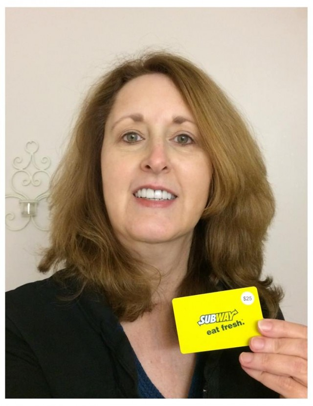Connie won this $25 gift card (+25 voucher bids) for $3.29 using only 17 voucher bids! #QuiBidsWin
