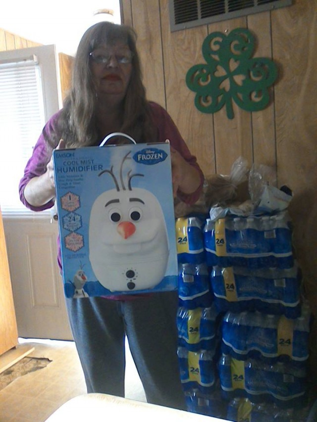 Cathy won this humidifier for $0.58 using 27 voucher bids! #QuiBidsWin