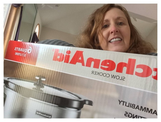 Connie used 31 voucher bids to win this slow cooker for only $6.95! #QuiBidsWin
