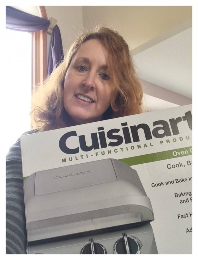 Connie won this countertop oven for $14.43 using 59 voucher bids and one real bid! #QuiBidsWin