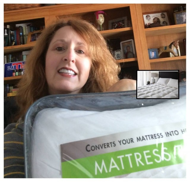 Connie won this mattress topper for $0.91 using only 27 voucher bids! #QuiBidsWin